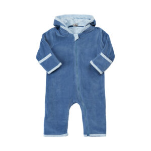 PIPPI VELOUR KØREDRAGT 4602 M (Moonlight Blue 780