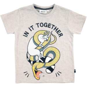 molo RUNI T-SHIRT 1S18A228 (Lemur and Snake